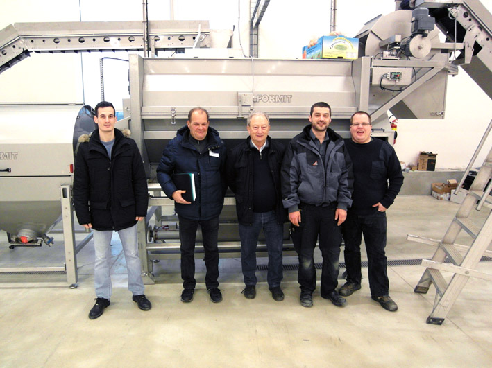 KRONEN High Capacity Vegetable Processing Line at Ghisetti